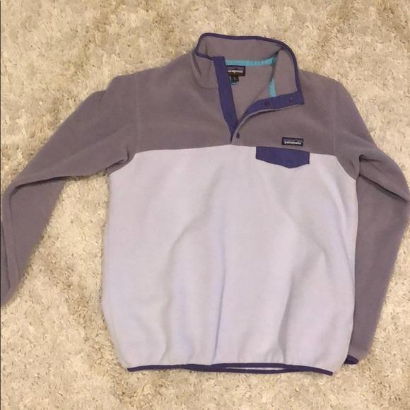 Patagonia Jackets & Blazers - Purple Patagonia Synchilla